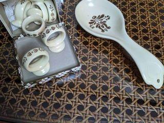 Vintage Porcelain Kitchenware