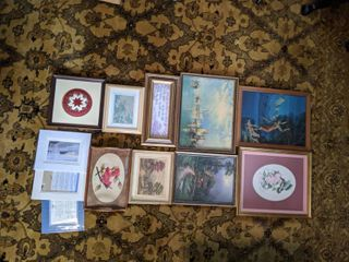 Lot of 12 Pieces of Art