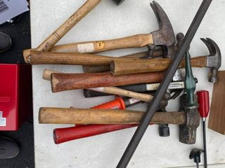 Lot of Misc hammers and Mallets