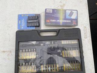 Lot of Various sets of Screwdriver bits