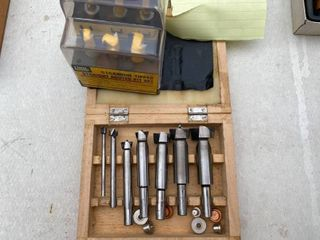 Assorted Router Bits