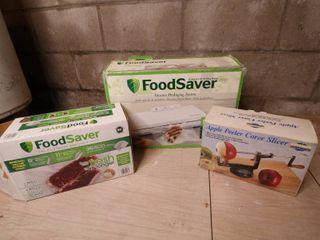 Food Saver/ Apple Peeler