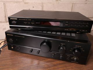 Stereo System Equipment. Untested