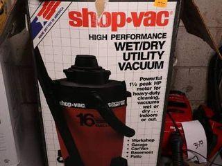 Shop Vac Wet/Dry Utility Vaccuum