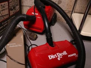 Dirt Devil Power Pak and Black and Decker Dirt Buster