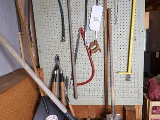 Lot of Misc Gardening/ Household Tools