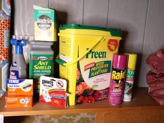 Lot of Misc Chemicals
