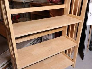 Three Tier Wood Shelf (Pair of two)