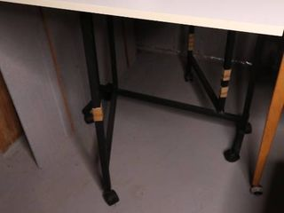 White Tall work Table