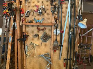 Mega Lot of Wood clamps and accessories