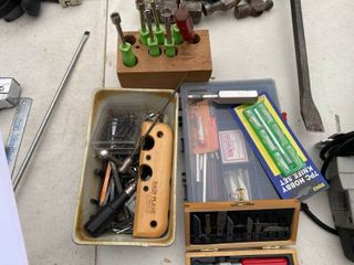 Misc wood working tools and accessories