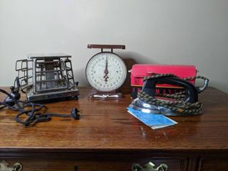 Lot of Vintage Household Items