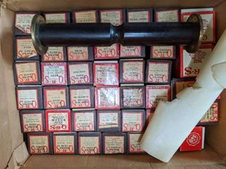 QRS Player Piano Rolls with spare roller
