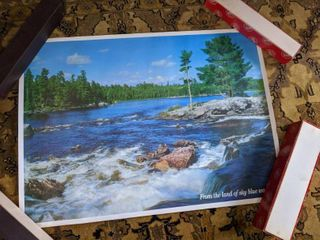 """Lot of 3 """"From the Land Of Sky Blue Waters"""" Posters"""