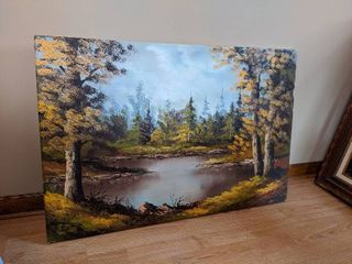 Nature Oil Painting by Gasi