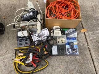 Assorted Chargers/Electrical