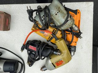 Assorted Electric Drills