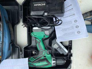 Hitachi Rechargable Drill Set