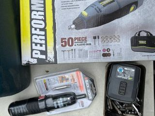 Performax Rotary Tool+Screwdriver and Bits