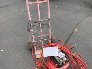 Central Pneumatic 3gal 100PSI Compressor+Dolly