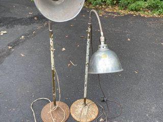 Floor Lamps/Antique Iron Base