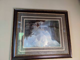 In The Mountains by Albert Bisertadt Framed Work of Art