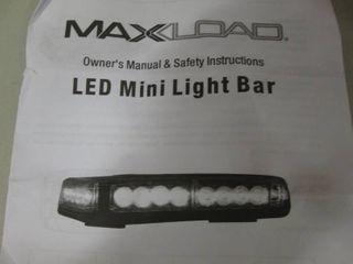 MaxLoad LED Mini Light Bar open box...