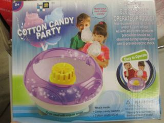 Cotton Candy Party open box...