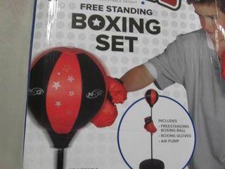 Free Standing Boxing Set - open box...