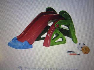 Kidsby Convertible Slide open box R...