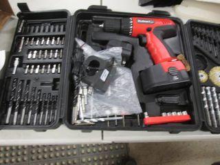 Stalwart 18 V Cordless Drill Set op...
