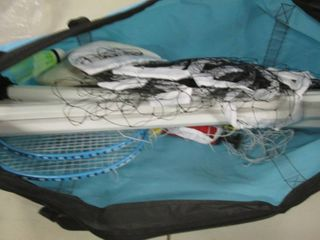Badminton/Volleyball Set open box...