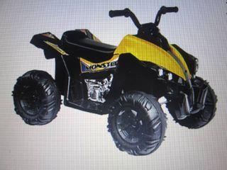 Kid Motorz 12V Monster Quad Ride-On...