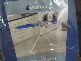 Whitmor T-leg Ironing Board with Co...