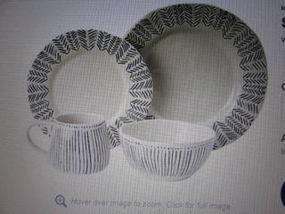 McLeland Design Sophie 16-Pc. Stone...