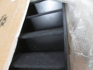Carpeted Pet Stairs open box return...