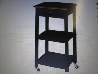 alcove Concord Kitchen Cart - Black...