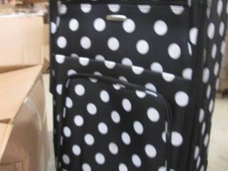 Rockland Rolling Suitcase open box...