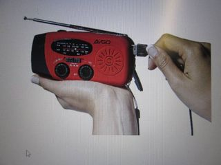 Solar/Hand Crank/USB Emergency Weat...
