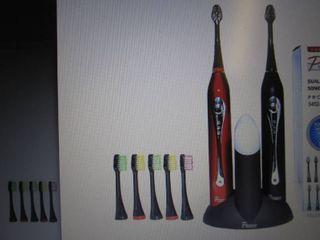 Pursonic Dual Handle Toothbrush - B...