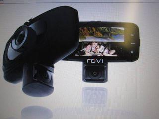 Rovi CL-3017 Dual View Dash Cam, 1 ...