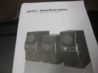 AVGO BlueTooth CD Home Music System...