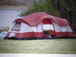 Outdoor Spirit 18x10 Dome Tent open...