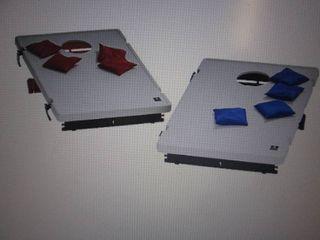 Portable Beanbag Toss Game open box...