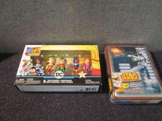 DC Mini Figures, Star Wars Crayons ...