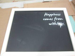 Chalkboard open box...