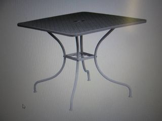 """Classic 35-1/2"""" Steel Patio Table -..."""