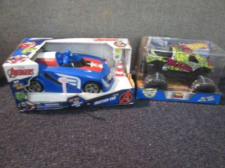 Avengers Friction Car, Hot Wheels M...