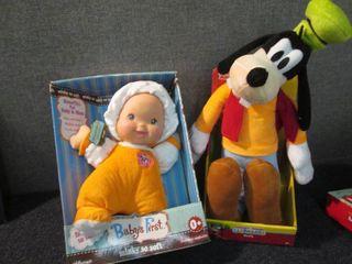 Baby's First Doll, Goofy Plush...