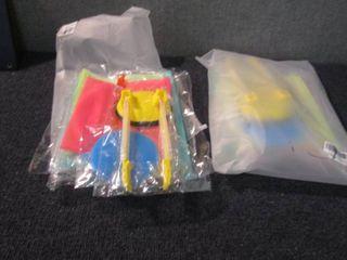 2- 4pks Reusable Storage Bags...